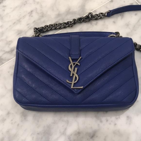87ced14d529 Yves Saint Laurent Bags | Ysl College Bag Small | Poshmark
